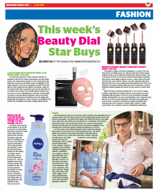 Dublin People Newspapers Beauty and Fashion Page