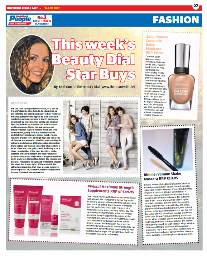 Dublin People Newspapers Beauty & Fashion Page.png