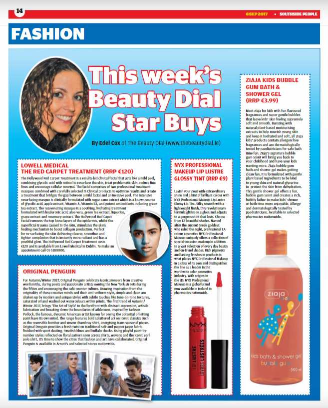 Dublin People Newspapers Beauty & Fashion Page