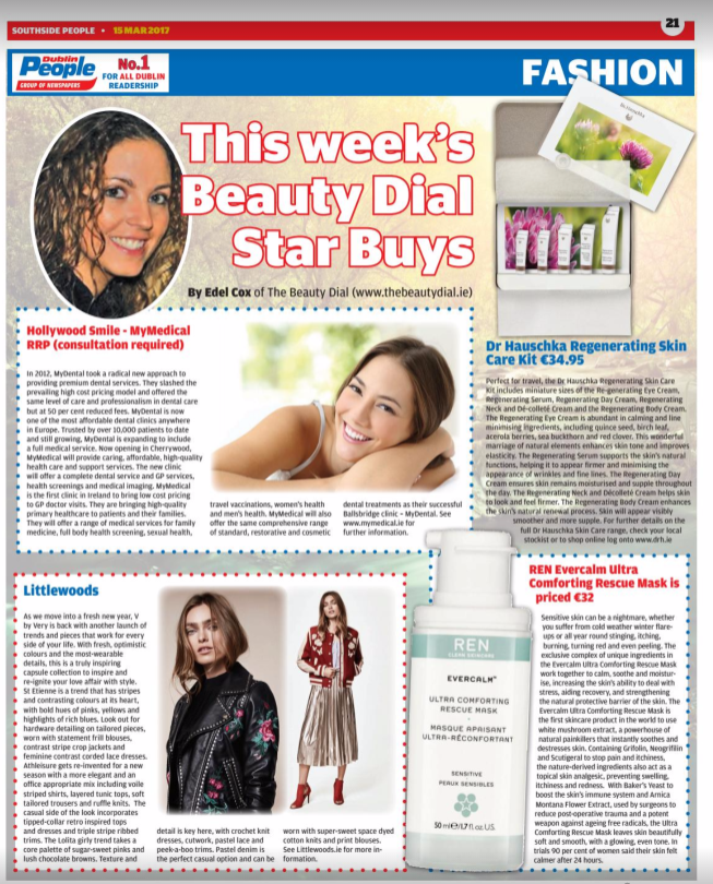 The Dublin People Newspapers Beauty & Fashion Page