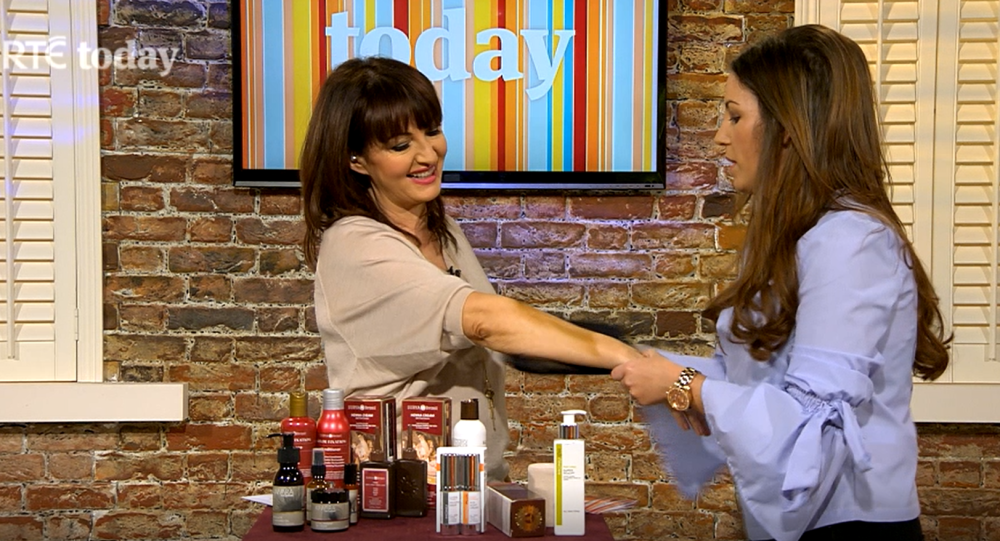 RTE Today Show Beauty Expert 2