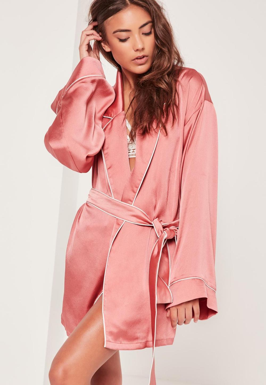 pink-kimono-piped-detail-silk-robe