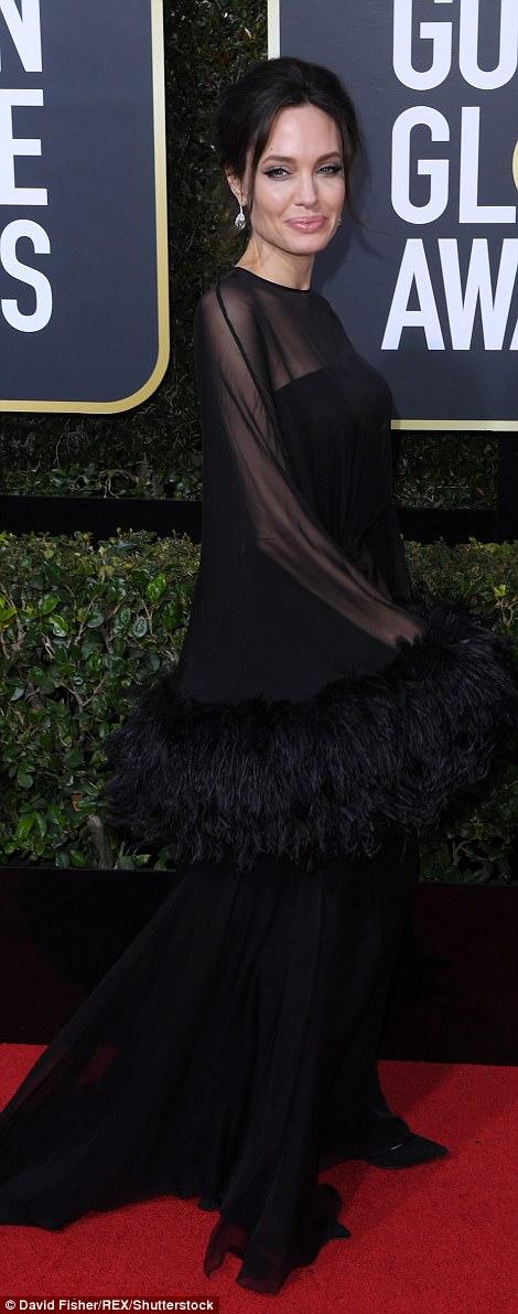 Angelina Jolie Golden Globes The Beauty Dial
