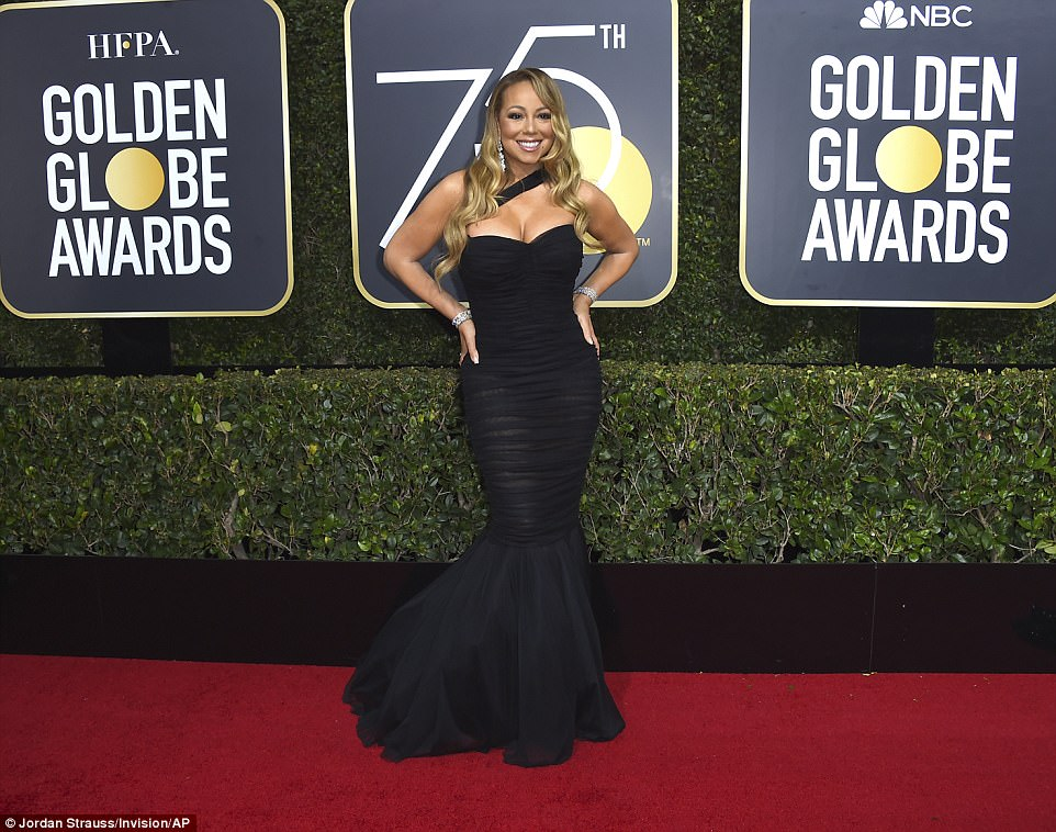 Mariah Carey Golden Globes The Beauty Dial