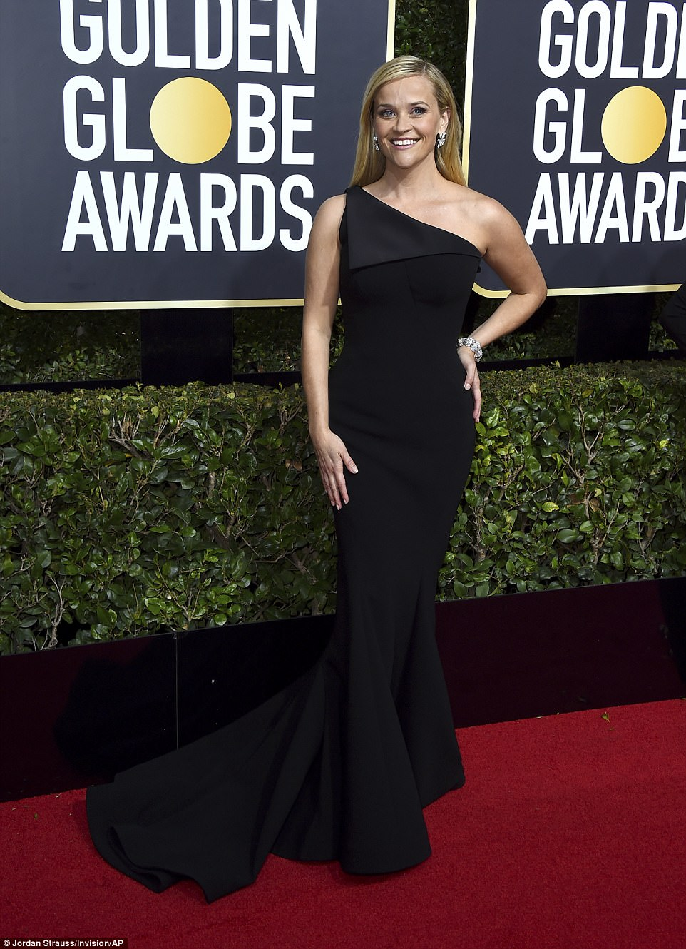 Reese Witherspoon Golden Globes The Beauty Dial