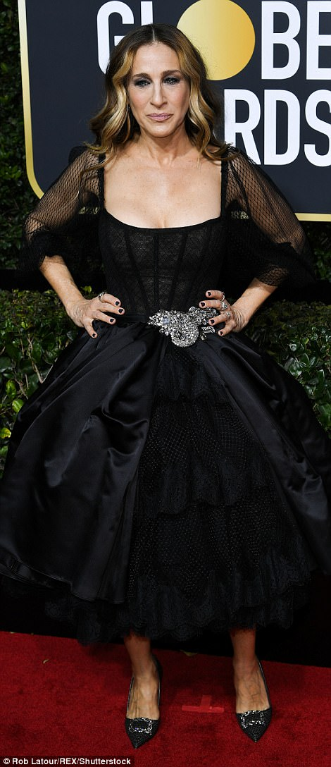 Sarah Jessica Parker Golden Globes The Beauty Dial