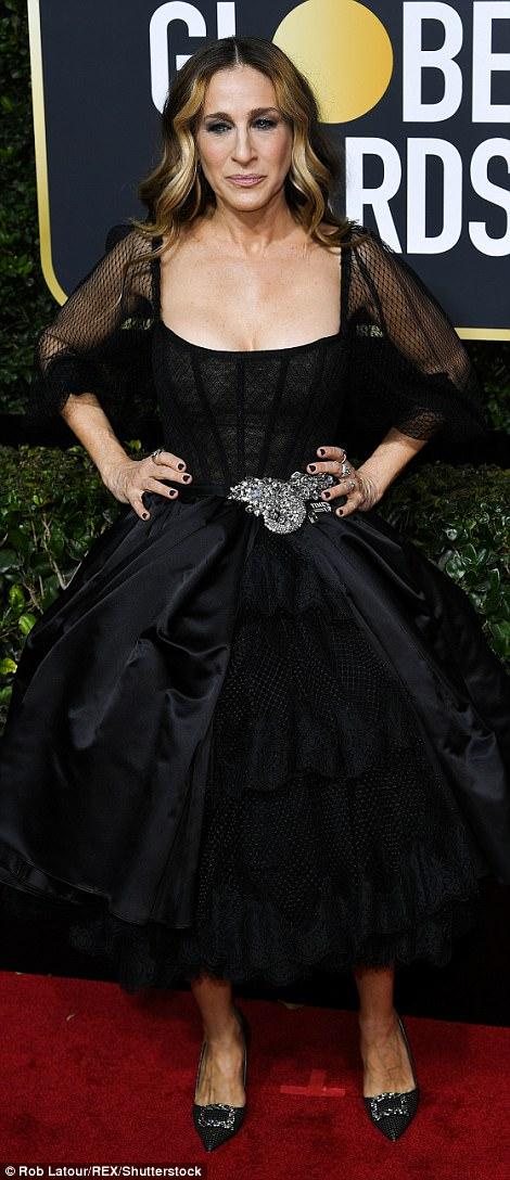 Sarah Jessica Parker Golden Globes The Beauty Dial