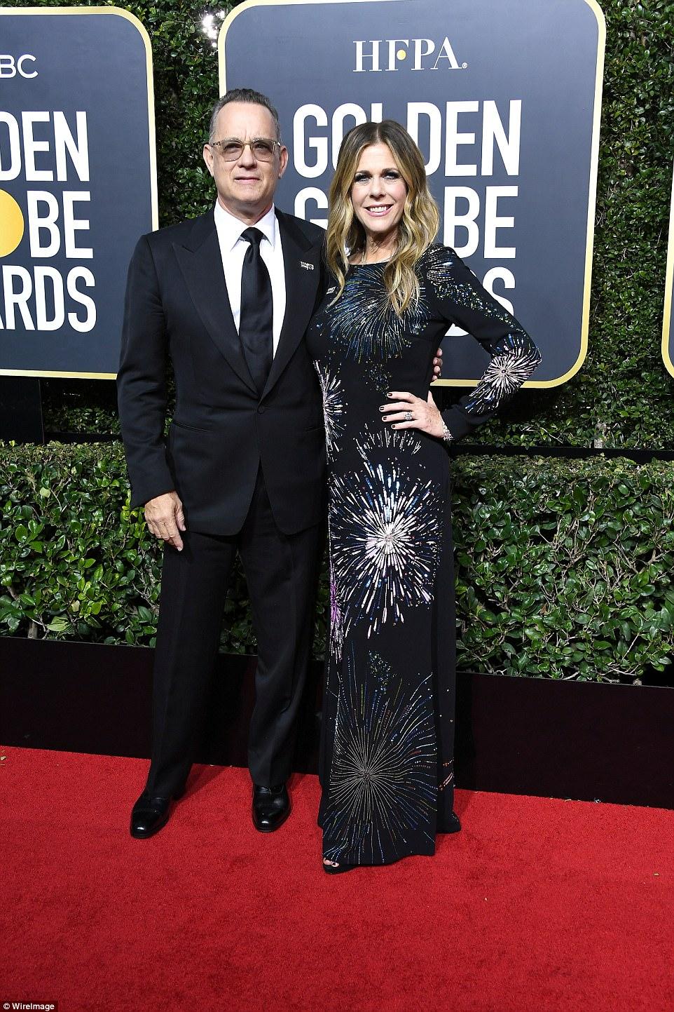 Tom Hanks and Rita Wilson Golden Globes The Beauty Dial.jpg