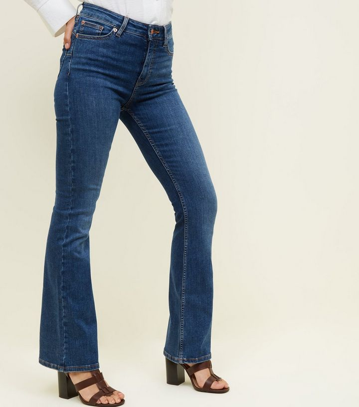 blue-boot-cut-'lift-&-shape'-jeans